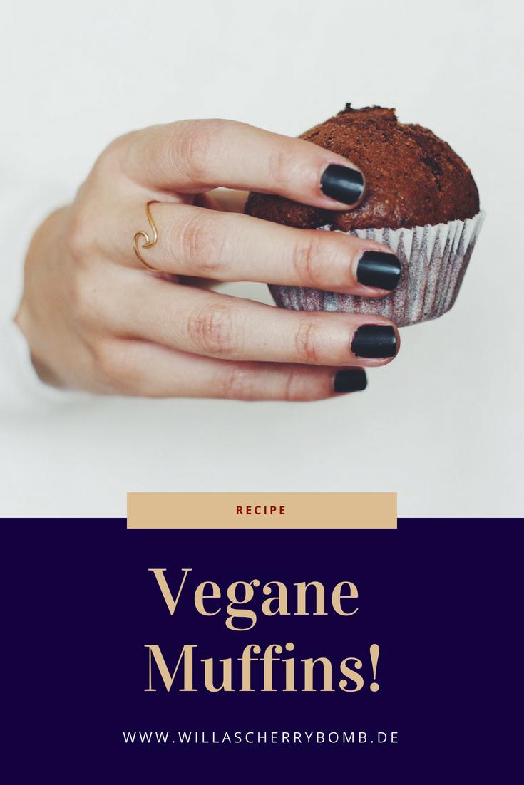 willascherrybomb rezept vegane muffins recipe vegan