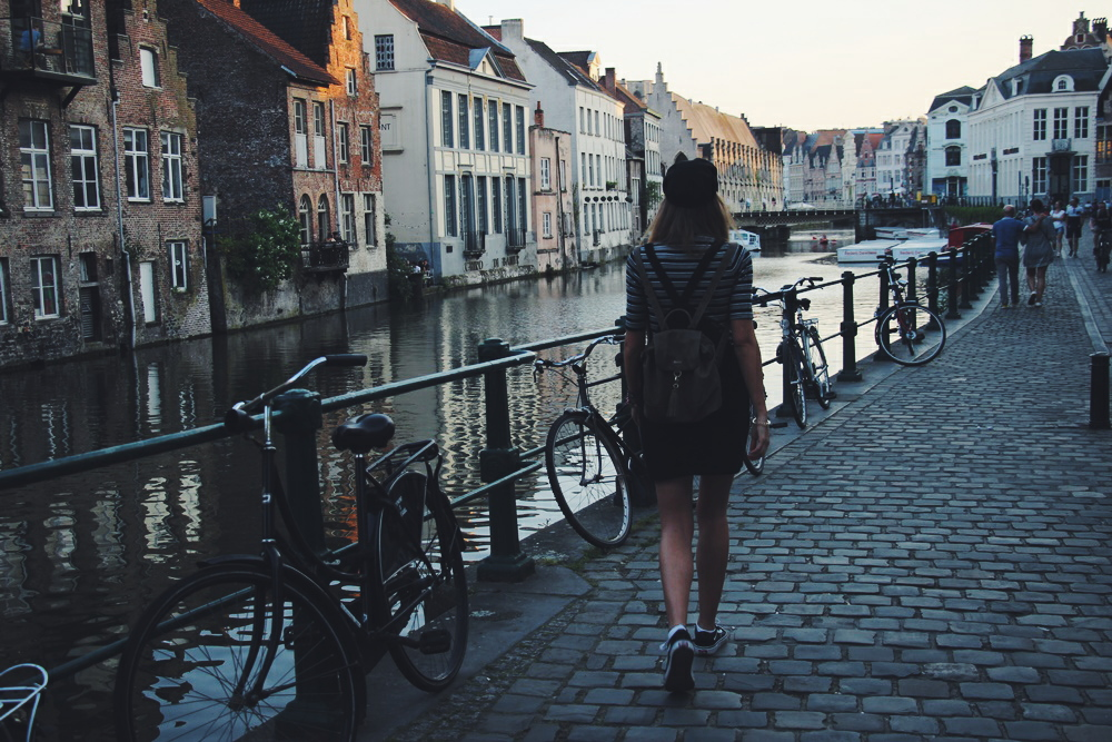 Ghent or Bruges travel belgium