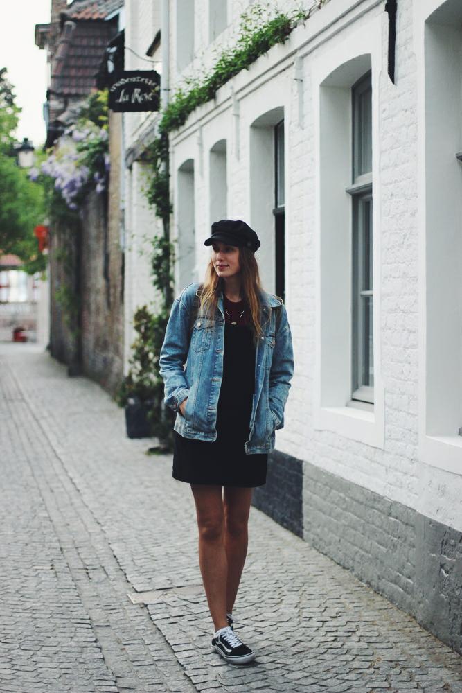 willascherrybomb das kleine schwarze kombinieren lässig elegant outfit look