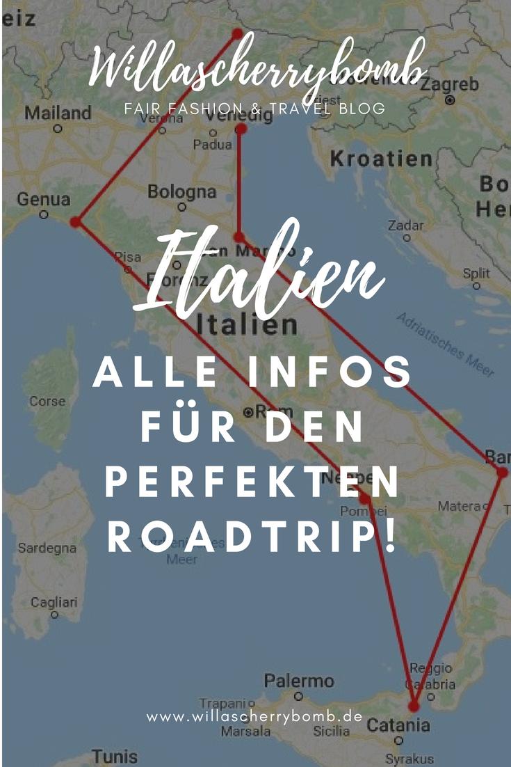 Italien Rundreise – Alle Informationen für den perfekten Roadtrip!