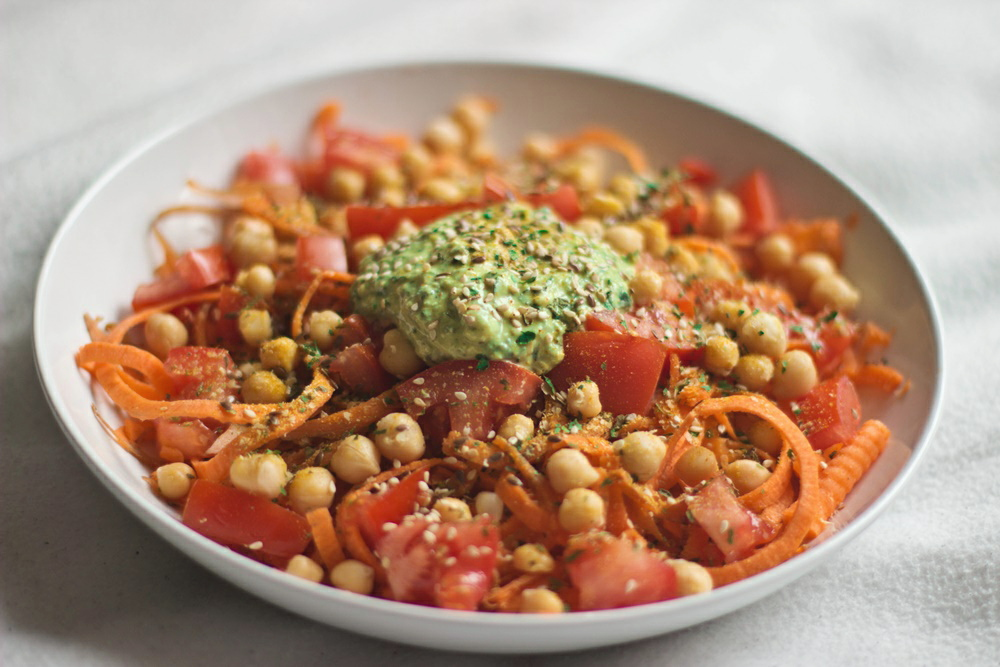 willascherrybomb rohe möhren spaghetti vegan rezept gesund