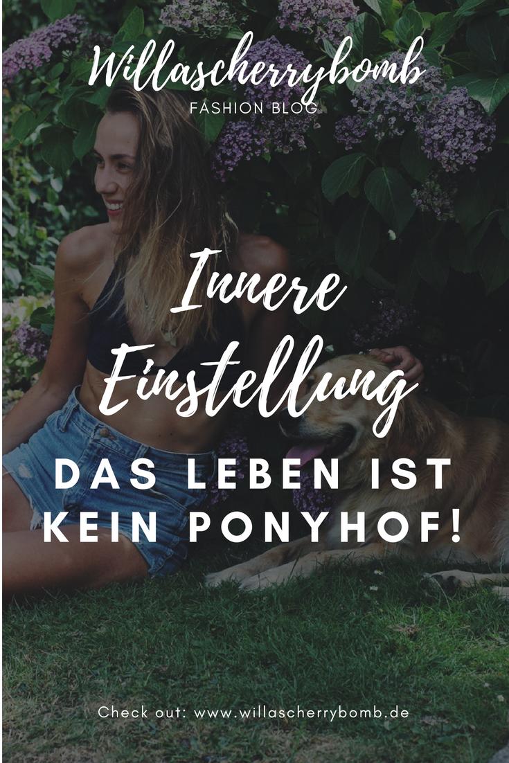 willascherrybomb gedankenpost gedanken law of attraction innere einstellung das leben ist kein ponyhof
