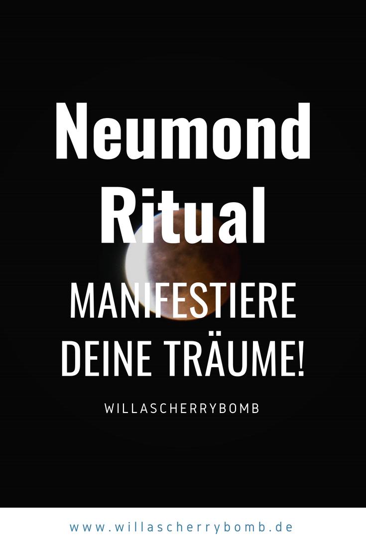 Neumond Ritual – Manifestiere deine Träume