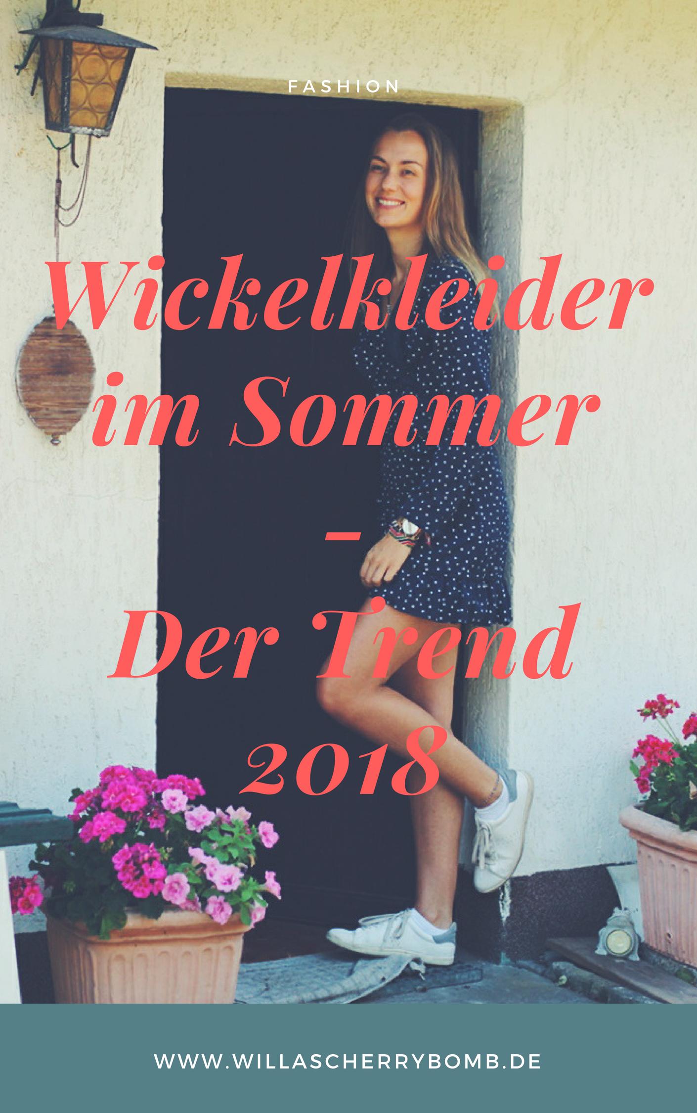 willascherrybomb wickelkleid sommer der kleider trend 2018 wickelkleider outfit inspiration
