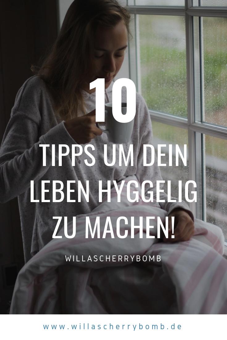 Hygge - 10 Tipps um Dein Leben hyggelig zu machen willascherrybomb herbst