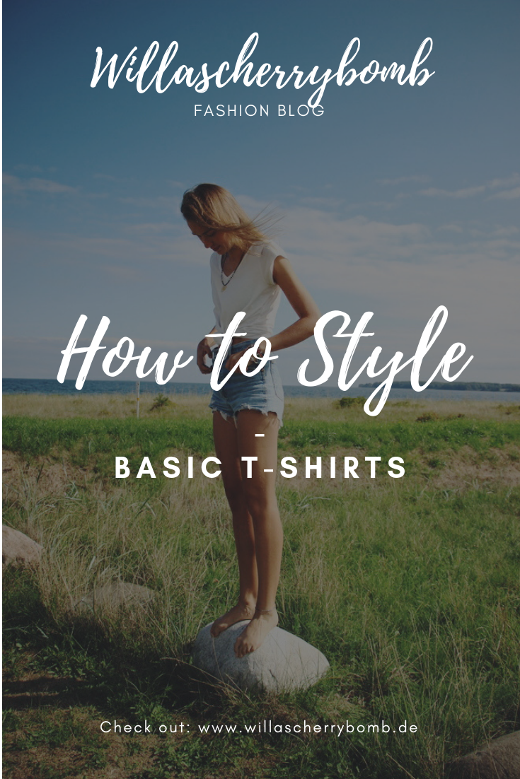 willascherrybomb how to style basic t-shirts outfit ideen inspiration