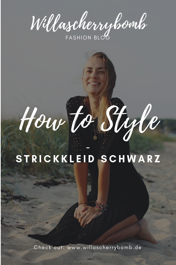willascherrybomb how to style strickkleid schwarz maxikleid outfit idee inspiration femmeluxe