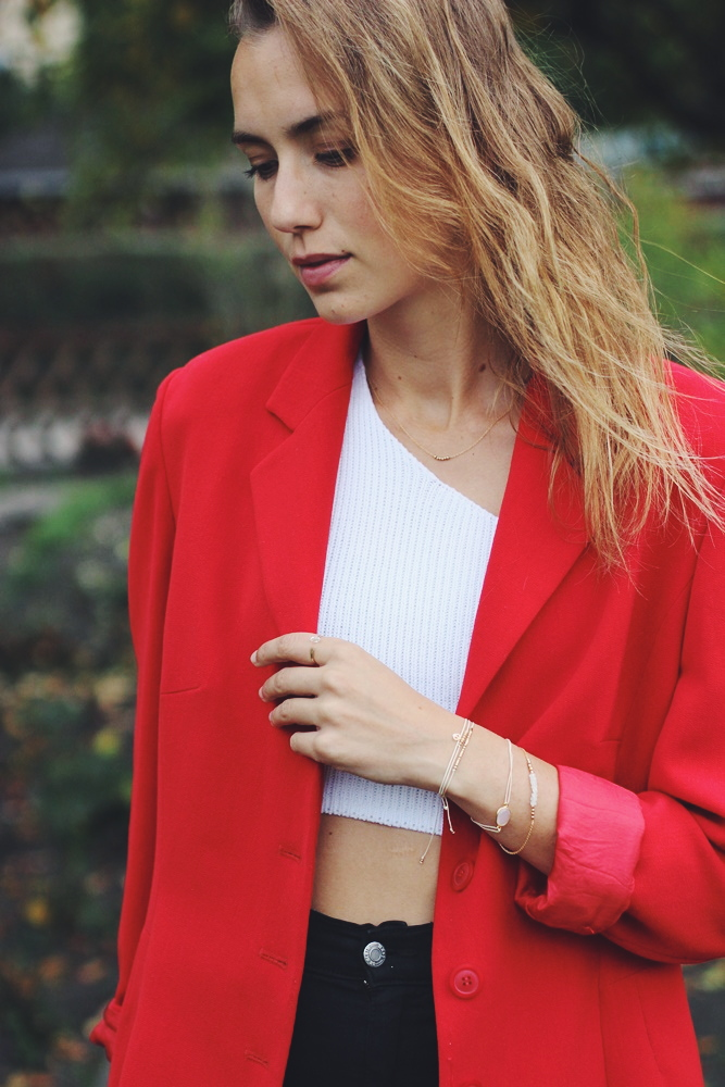 How to Style - Roter Blazer kombinieren willascherrybomb outfit inspiration