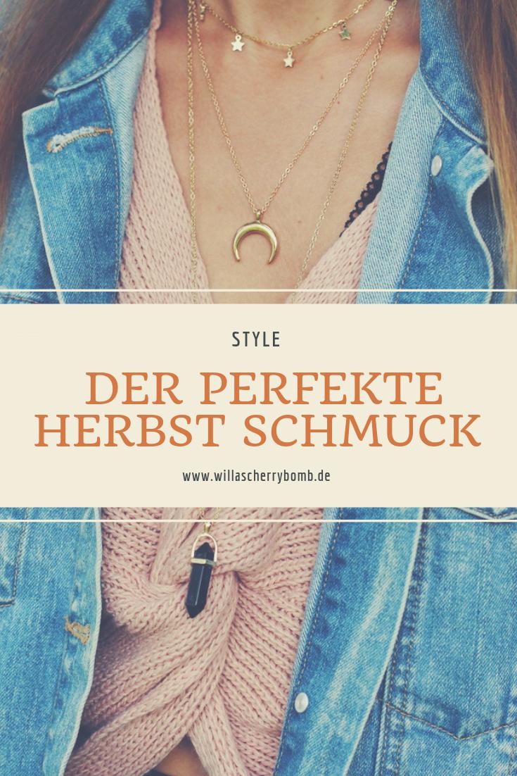 Der perfekte Herbst Schmuck willascherrybomb blogger blog