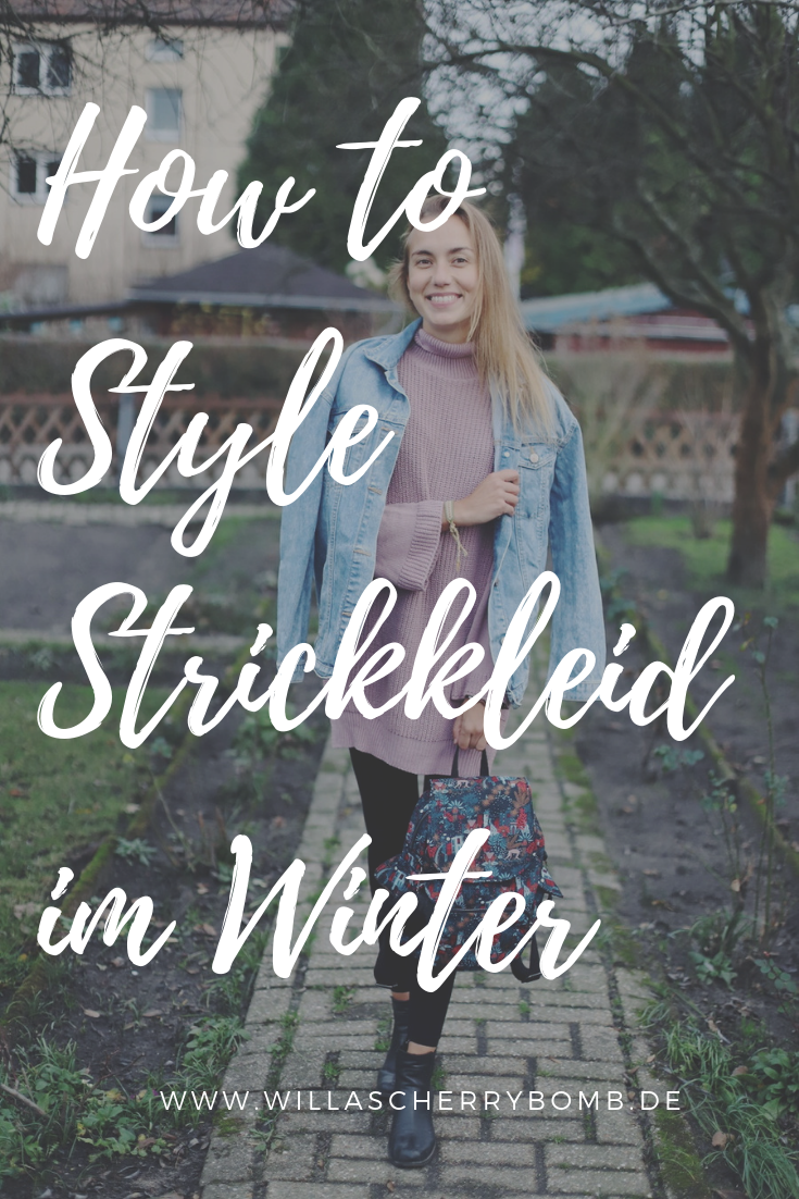How to Style - Strickkleider im Winter - willascherrybomb