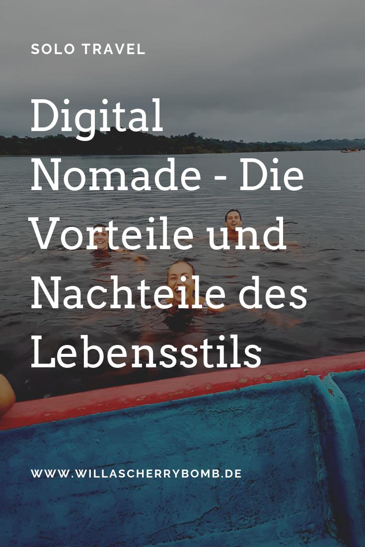 Digital Nomade - Die Vorteile und Nachteile des Lebensstils - yvonne karnath - willascherrybomb