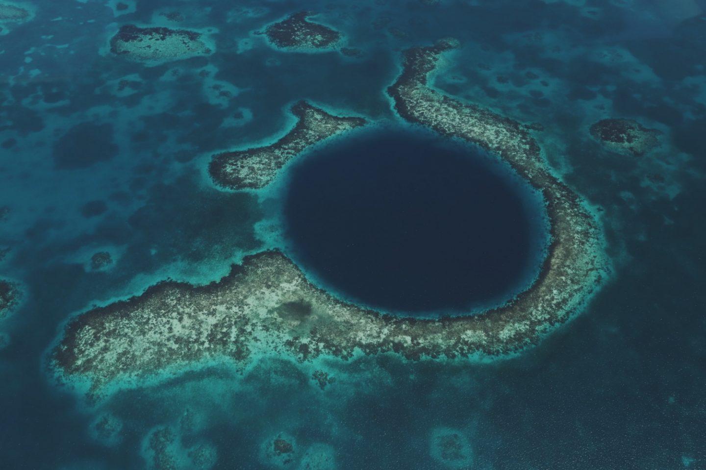 Belize - Das Blue Hole in Caye Caulker! - willascherrybomb - yvonne karnath