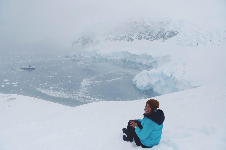 Gedankenpost: Ein wahr gewordener Traum - willascherrybomb - antarktis