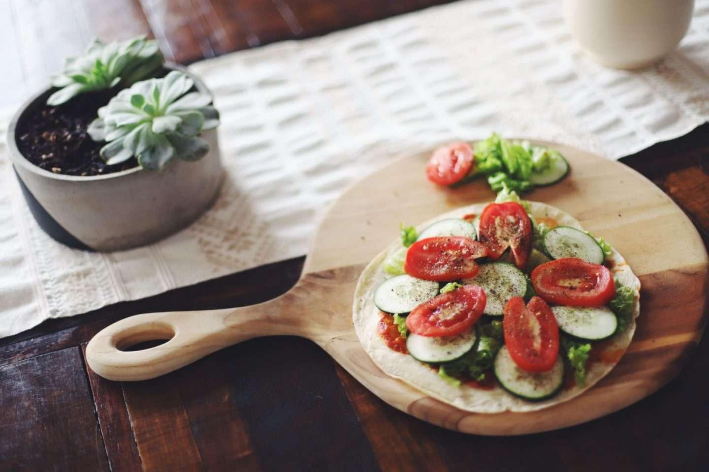 Rezept - Die einfachste und gesuendeste Pizza EVER! (vegan) - willascherrybomb