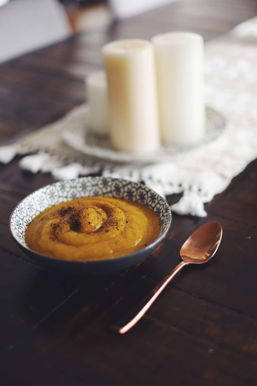 Vegane Kürbissuppe für kalte Tage - blog - willascherrybomb