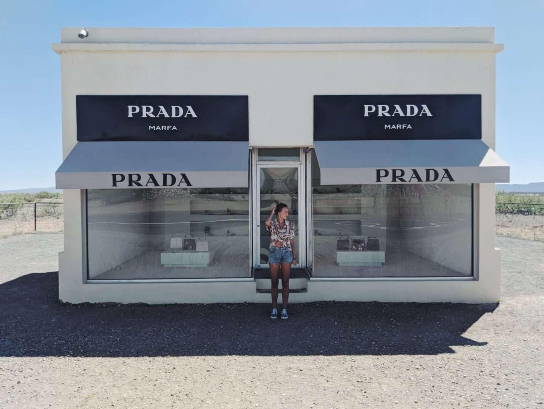 Prada Marfa in Texas shop