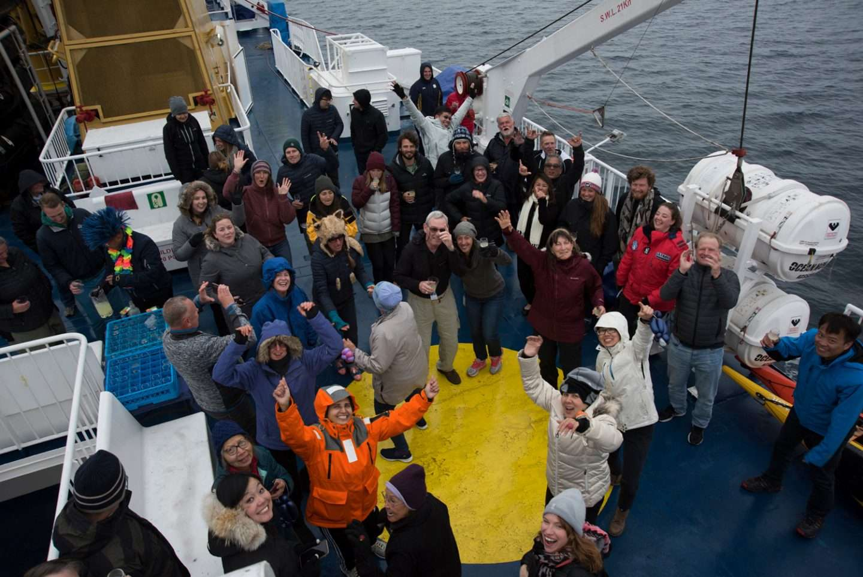 Antarctica21 team