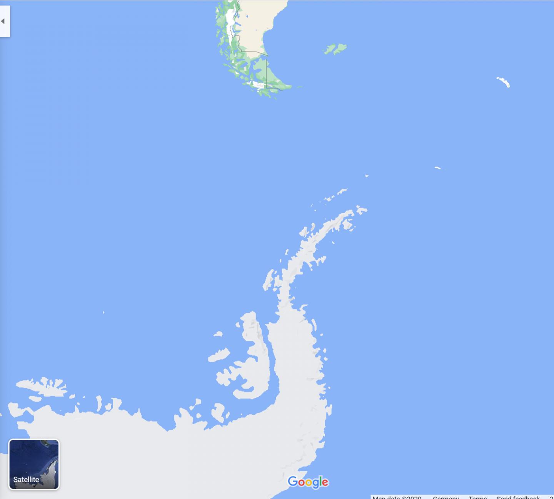 Antarktis Reise – Den siebten Kontinenten entdecken Karte