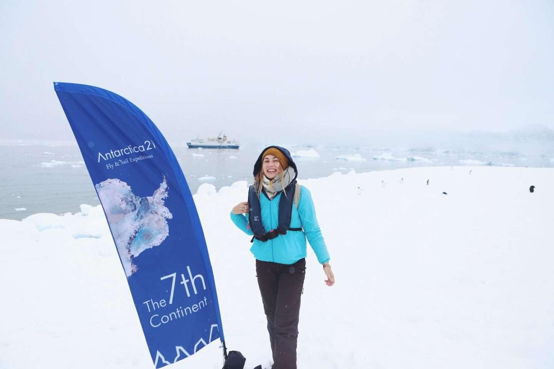 Traum von der Antarktis Yvonne Karnath